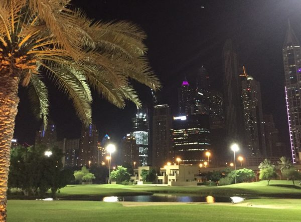 Dubai Golf by Nigth